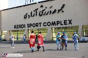 گوینده ورزشگاه آزادی: رعایت کنید تا بانوان هم بیایند