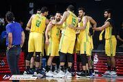تیم بسکتبال نفت آبادان سوم آسیا شد