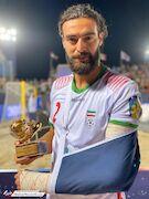 ساحلیباز مصدوم ایران، ستاره جام بینقارهای شد