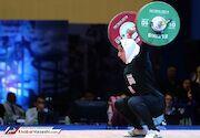 ثبت اولین مدال تاریخ وزنهبرداری بانوان ایران