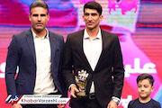 سال پیش هم جایزه بهترین بازیکن آسیا حق بیرانوند بود