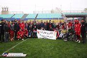 دیدار پرسپولیسیها با مدالآوران معلول