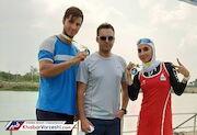 دو مدال طلا برای روئینگ ایران در کاپ آسیا تایلند