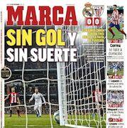 روزنامه مارکا| بدون گل، بدون شانس