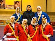 تیم کشتی آلیش بانوان ایران قهرمان جهان شد