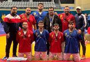 تیم آلیش مردان ایران نایبقهرمان جهان شد