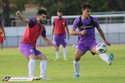 گزارش تصویری| ادامه تمرينات تيم فوتبال امید ایران در تايلند