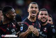 زلاتان گل زد، میلان با پیروزی آشتی کرد