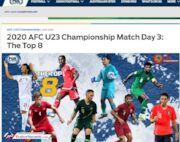 نورافکن جزو 8 بازیکن برتر هفته آخر مرحله گروهی زیر 23 سال آسیا