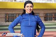 رکودشکنی بانوی ایرانی در دوی ۶۰ متر