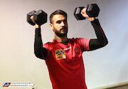 گزارش تصویری| تمرین پرسپولیس در سالن وزنه