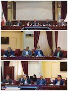 عکس| خلیلزاده با ماسک در مجمع عمومی استقلال
