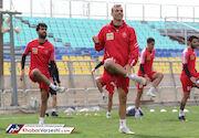 گزارش تصویری| تمرین پرسپولیس در ورزشگاه شهید کاظمی