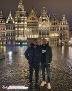 عکس| دیدار شبانه دو لژیونر استقلالی در بروکسل