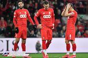 قهرمان ۱۰ دوره لیگ بلژیک در آستانه از دست دادن مجوز حرفهای