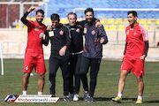 حمایت بازیکنان پرسپولیس از گلمحمدی