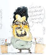 کارتون  استعفای تپل برای قرارداد تپلتر!