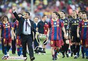 شاید مسی، بارسلونا را ترک کند!
