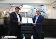 همکاری فدراسیون دوچرخهسواری و شهرداری منطقه ۱۷ کلید خورد