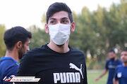 عکس| تبریزی در تمرین استقلال حاضر شد
