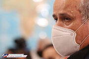 عکس| عرق سرد روی پیشانی مهدی تاج در جلسه بررسی قرارداد ویلموتس