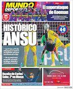 روزنامه موندو| آنسو تاریخساز