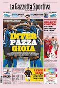 روزنامه گاتزتا| اینتر، شادی با دیوانگی