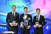 عکس روز| جوایز فردی بعد از جامها