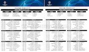 عکس  برنامه کامل مرحله گروهی لیگ قهرمانان اروپا