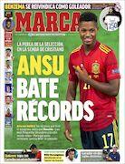 روزنامه مارکا| آنسو رکوردها را میشکند