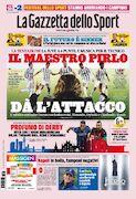 روزنامه گاتزتا| خط حمله، استاد پیرلو