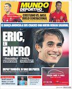 روزنامه موندو| اریک در ژانویه
