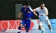 برتری تیمملی فوتسال ایران برابر ازبکستان