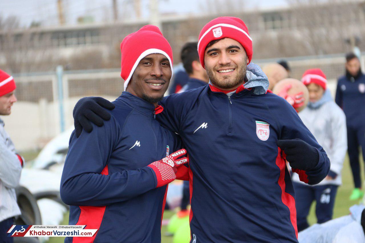 گزارش تصویری| تمرین تراکتوری ها در نیم فصل دوم با حضور بازیکنان جدید