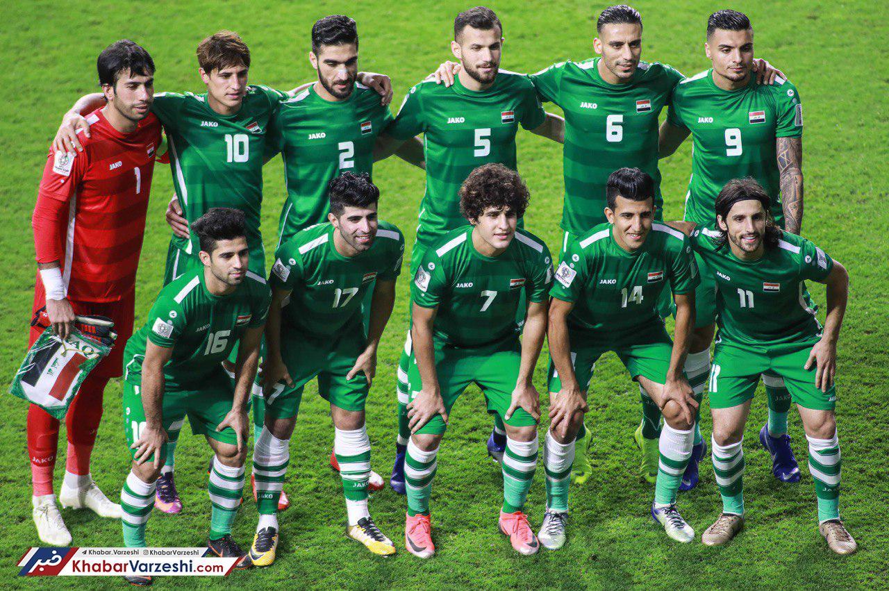تساوی ایران و عراق در نیمه نخست