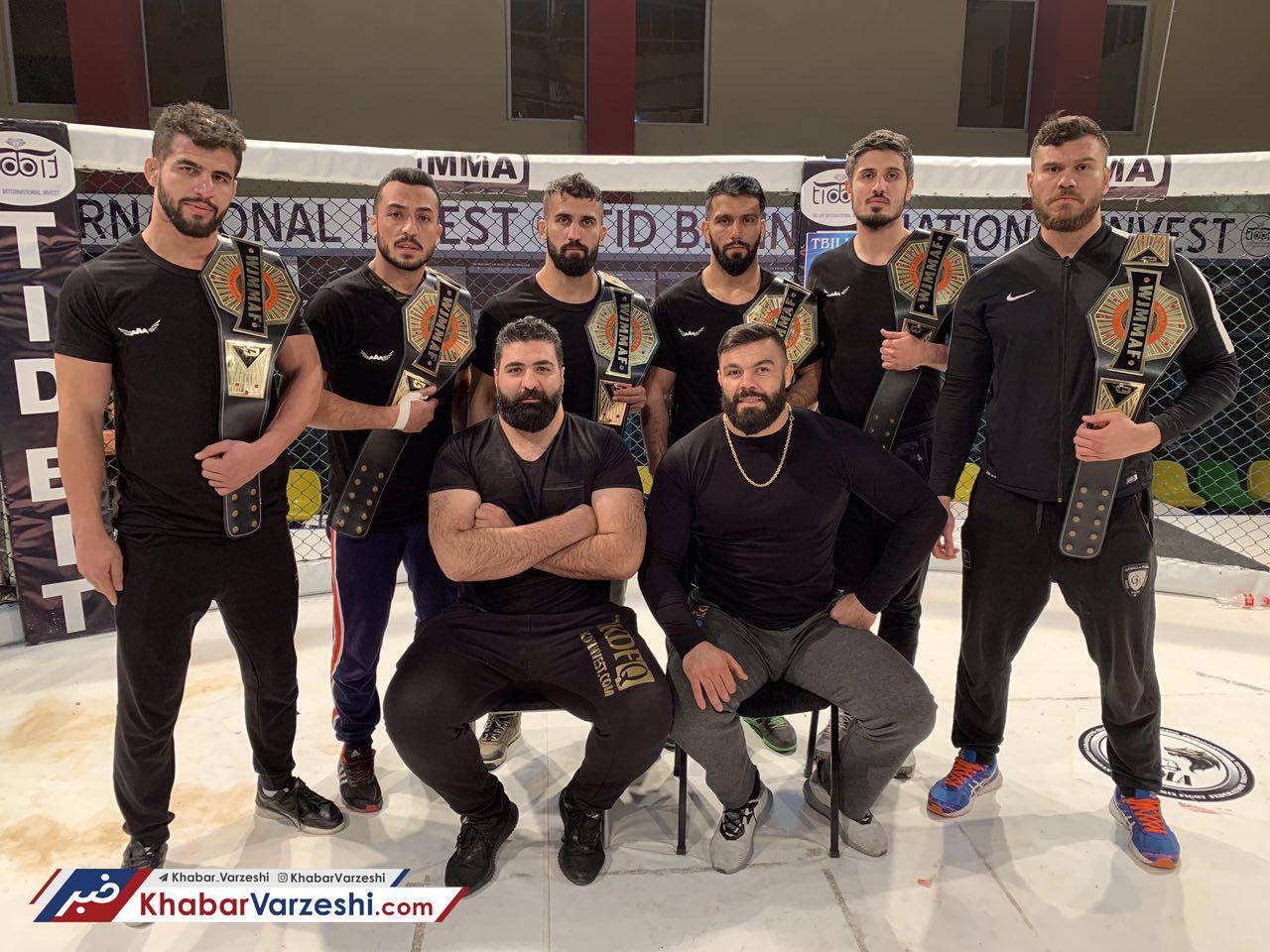 پیروزی منتخب MMA درتورنمنت گرجستان