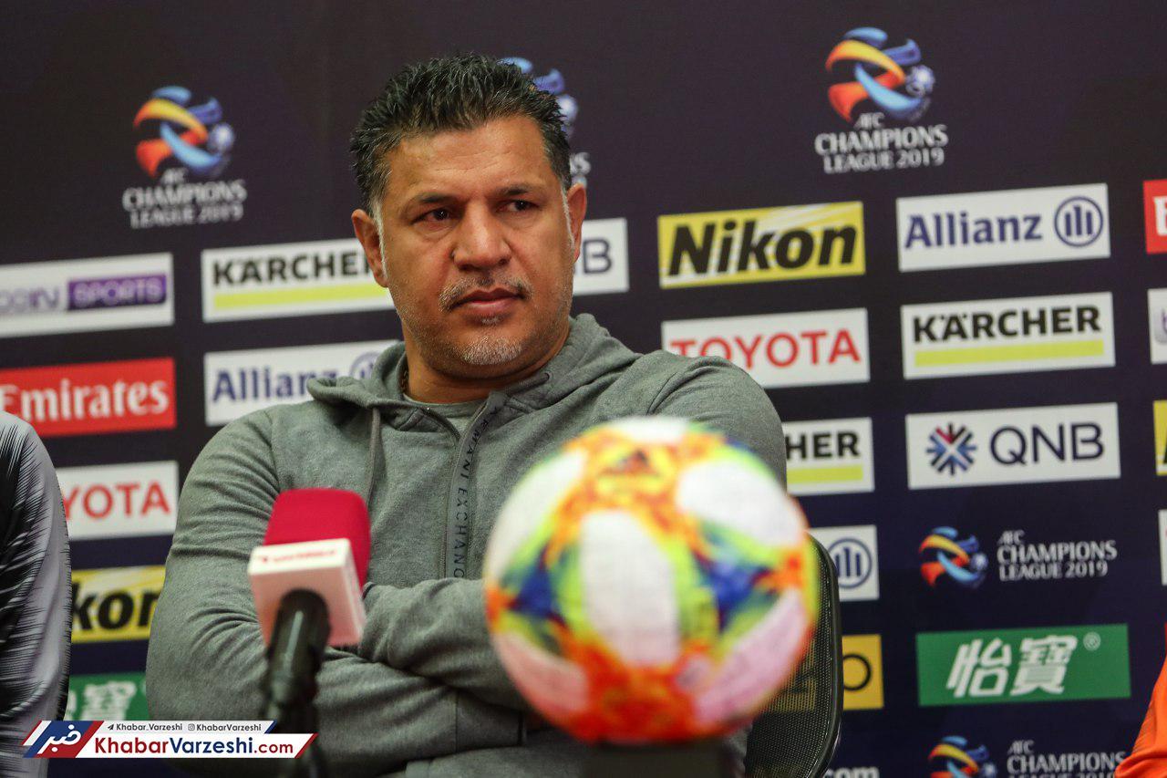 گزارش تصویری| کنفرانس خبری علی دایی پیش از بازی با الریان قطر