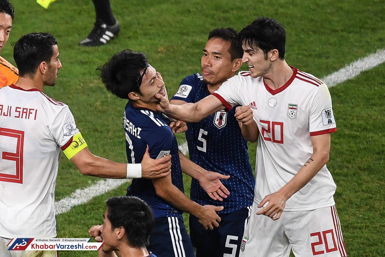 آزمون: بعد از بازی از بازیکنان ژاپن عذرخواهی کردم