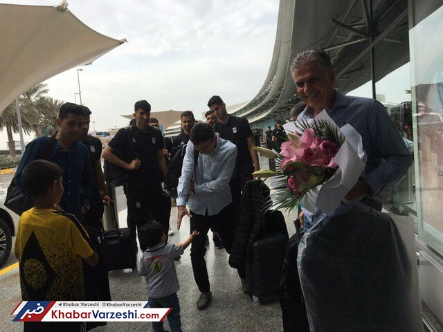 تاخیر در بازگشت تیم ملی فوتبال به ایران