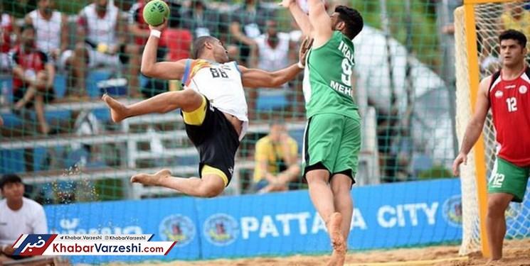 اعزام تیم هندبال ساحلی شهرستان جم به مسابقات قهرمانی کشور