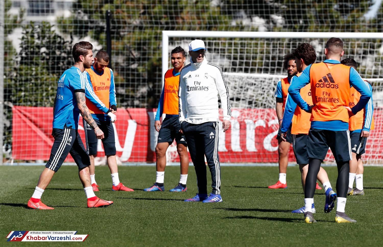 گزارش تصویری  اولین تمرین رئال مادرید با زیدان