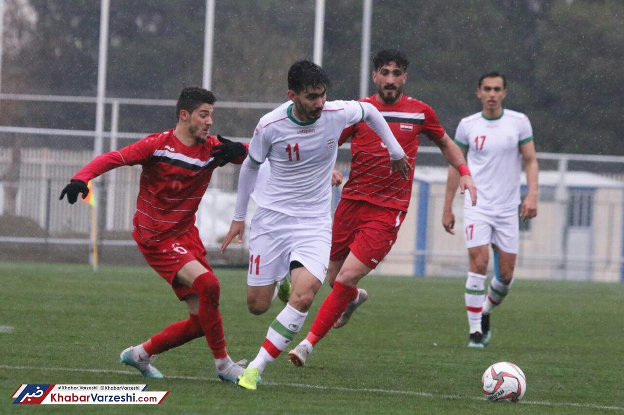 گزارش تصویری| شکست تیم ملی فوتبال امید مقابل سوریه
