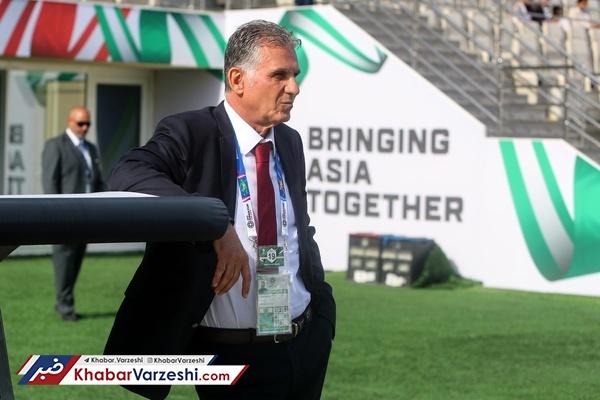 اشاره AFC به تقابل دوباره کیروش با ژاپن