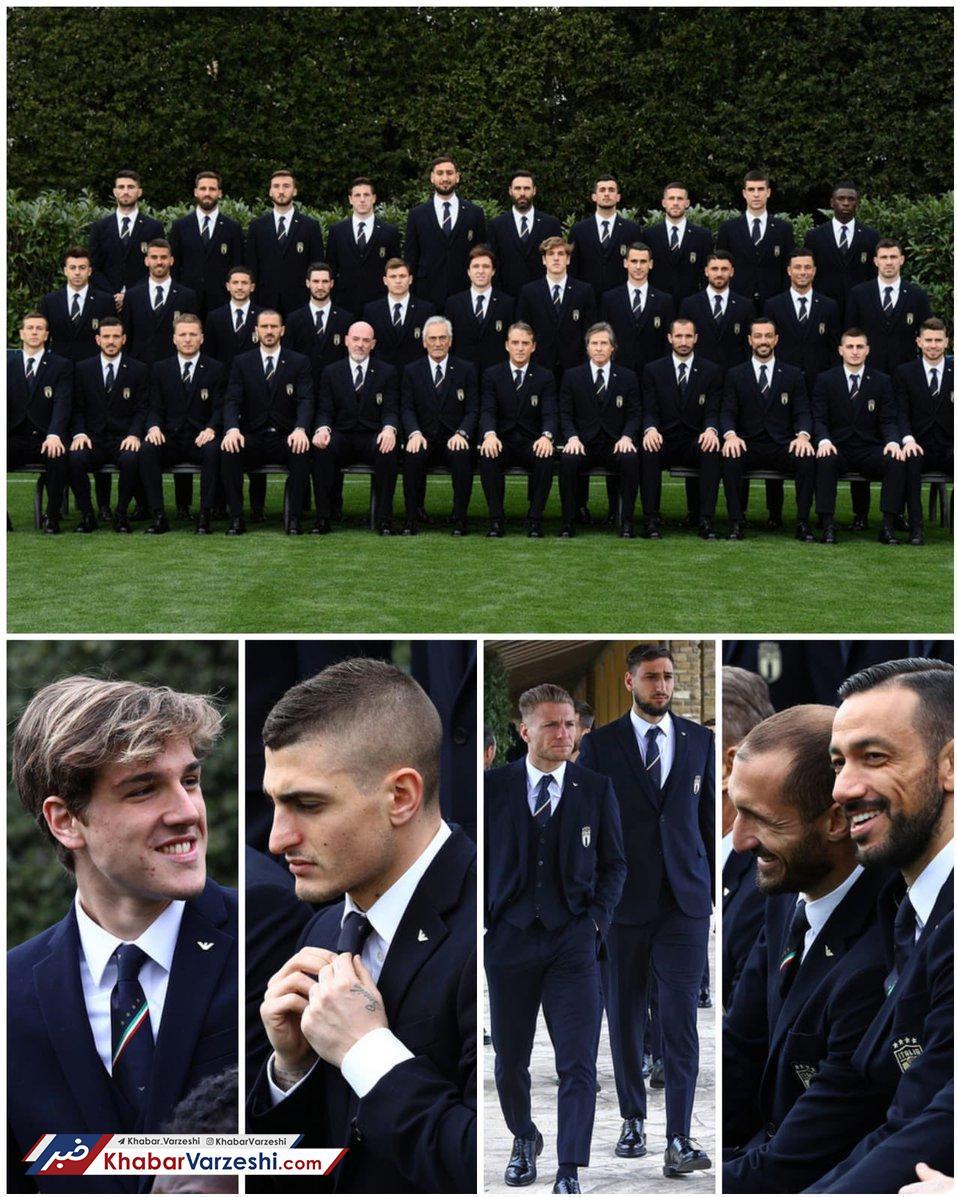 عکس| قرارداد فوتبال ایتالیا با برند معروف