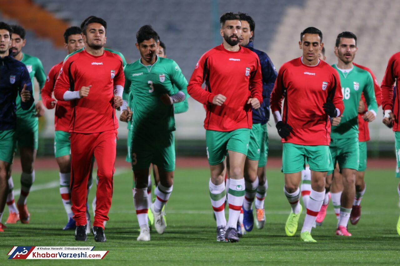 گزارش تصویری| اولین جلسه تمرینی تیم امید در ورزشگاه آزادی