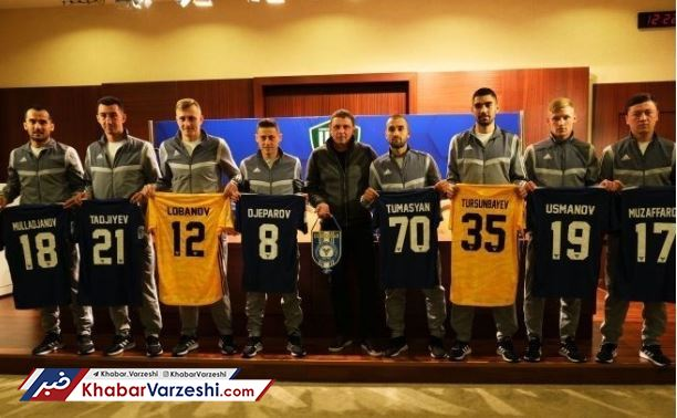 بازیکنان استقلال و پرسپولیس در ازبکستان همبازی شدند