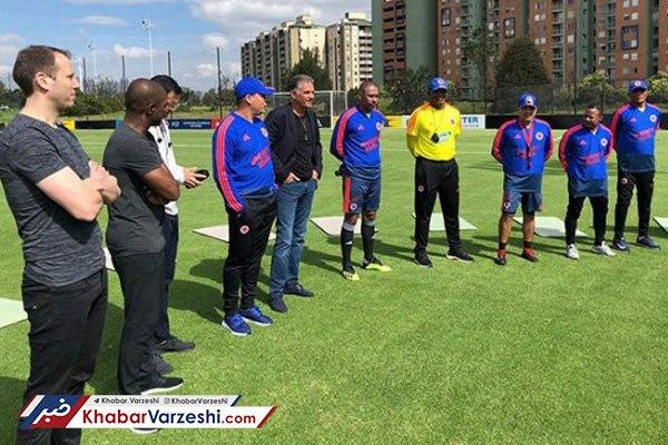 کیروش ۱۸ دستیار خود در تیم ملی کلمبیا را معرفی کرد