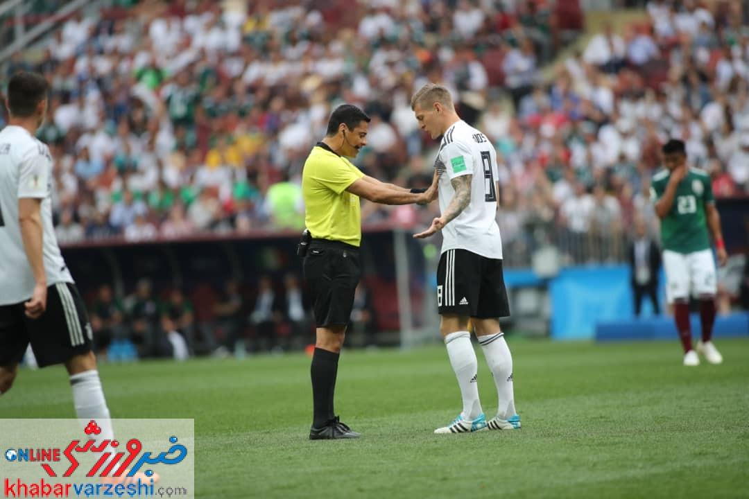 فغانی در صدر برترین داوران جام جهانی ۲۰۱۸