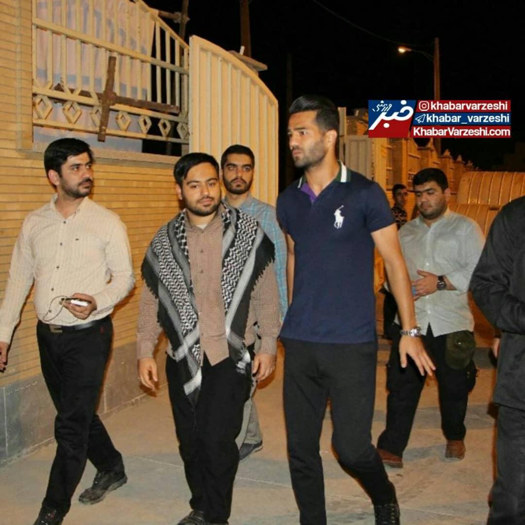 عکس| سفر پربار کاپیتان تیم ملی به خرمشهر