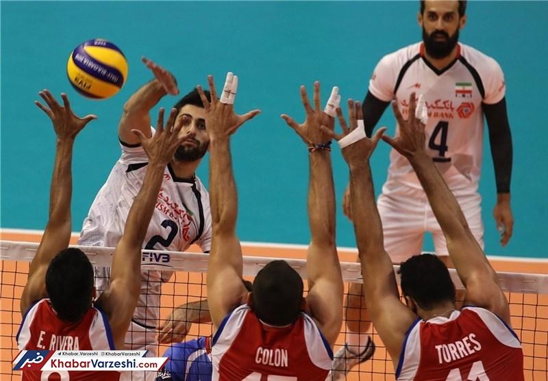 استارت طوفانی سروقامتان والیبال ایران در جام جهانی